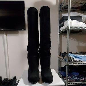 Sam Edelman suede boots.